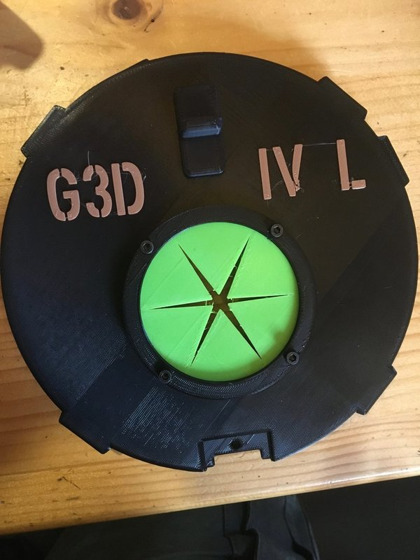 Quick - fill lid for MARK IV L drum magazines